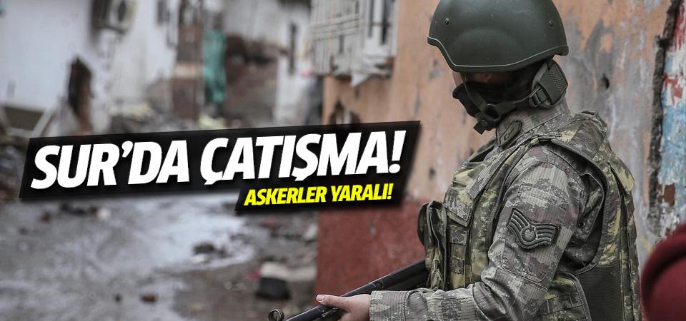 Diyarbakır Sur'da çatışma: 4 asker yaralı