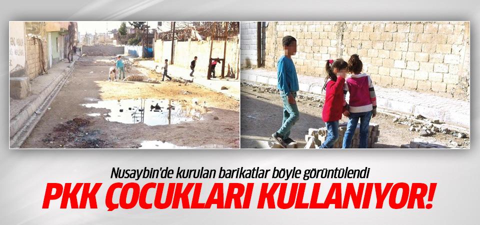 Nusaybin'de PKK çocuklara barikat kurduruyor