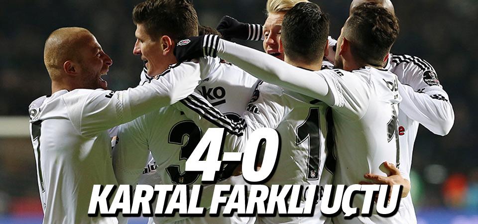 Beşiktaş - Gaziantepspor maçı sonucu