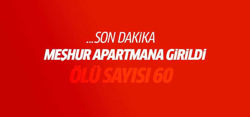 Cizre'deki apartmana girildi: 60 ölü!