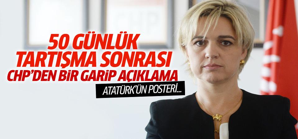CHP'den 'Atatürk posteri' açıklaması