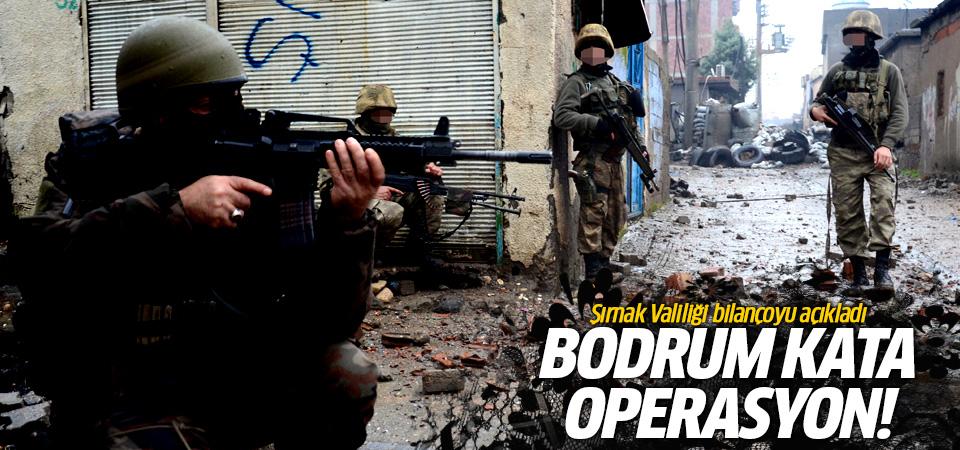 Cizre'deki Bodrum katta 60 PKK'lı öldürüldü iddiası