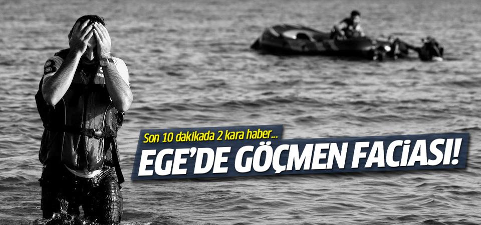 İzmir'de 2 mülteci botu battı: 33 ölü