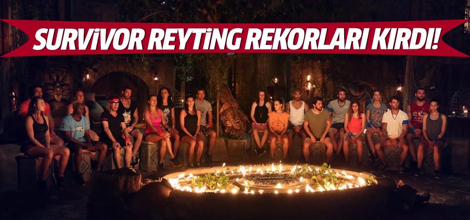 Survivor reyting rekorları kırdı!