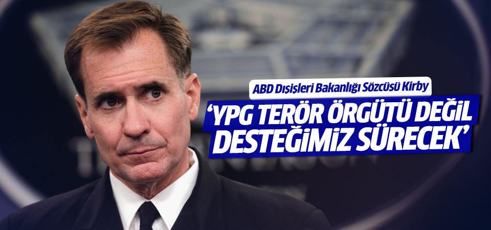 ABD: YPG terör örgütü değil