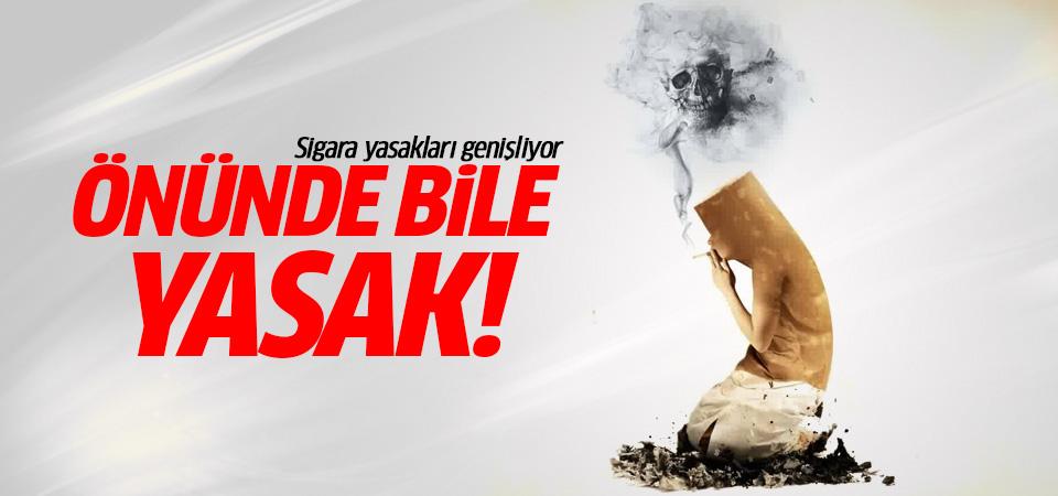 Sigara yasakları genişliyor: Açık alanlarda da yasak!