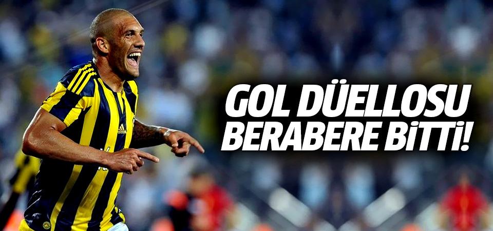 Fenerbahçe ve Amedspor'un gol düellosu berabere bitti! 3-3