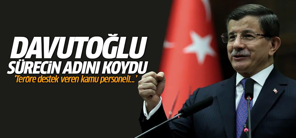 Davutoğlu sürecin adını koydu: Demokrasi ve Huzur paketi