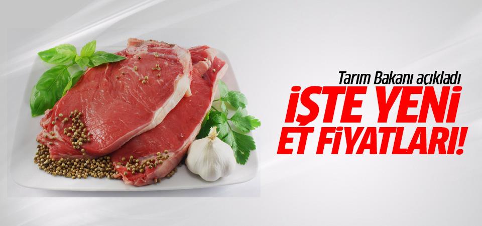 Tarım Bakanı Faruk Çelik'ten et fiyatını açıkladı!