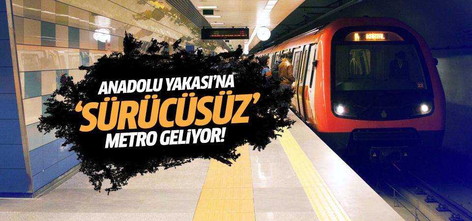 Anadolu Yakası'na 'sürücüsüz' metro geliyor
