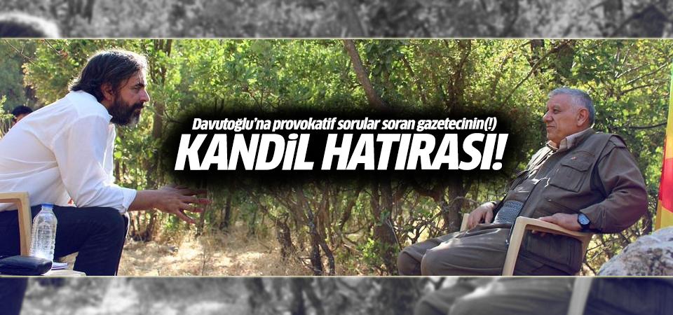 Provokatör gazeteci Deniz Yücel'in Kandil hatırası