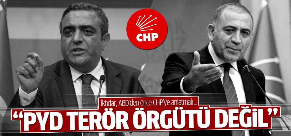 CHP: PYD terör örgütü değildir
