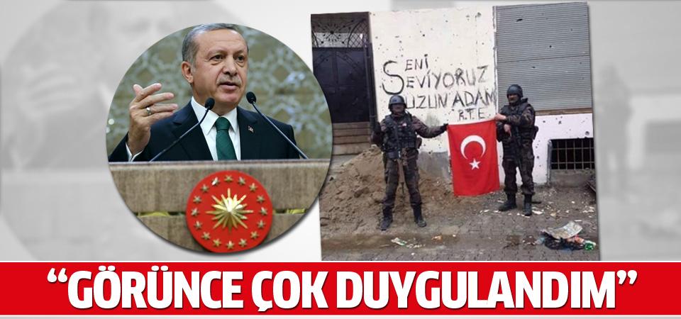 Erdoğan 'uzun adam' fotoğrafı hakkında konuştu
