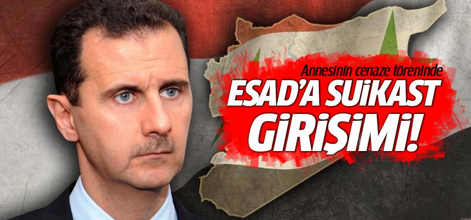 Annesinin cenazesinde 'Esad'a suikast girişimi' iddiası