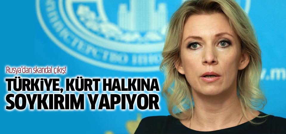 Rusya: Türkiye Kürt halkına soykırım yapıyor