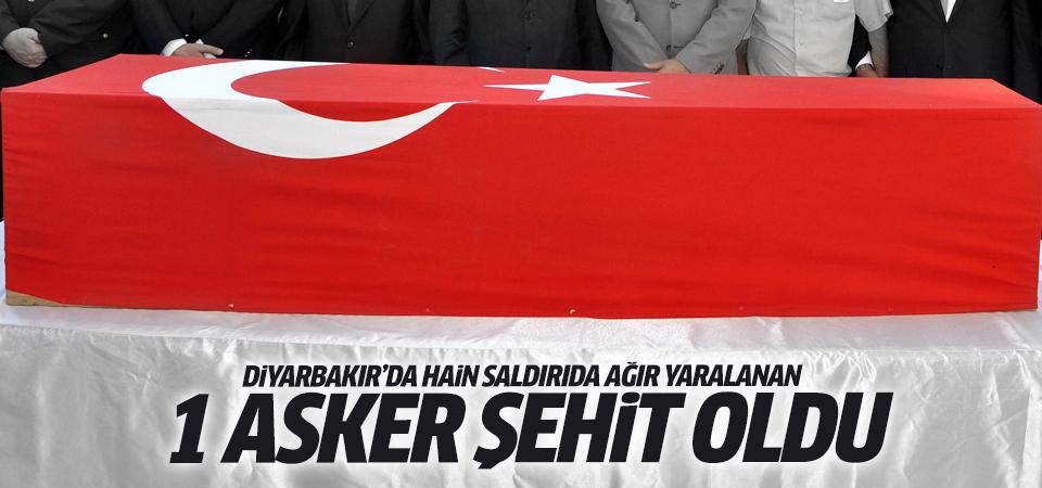 Diyarbakır'dan kara haber: 1 şehit