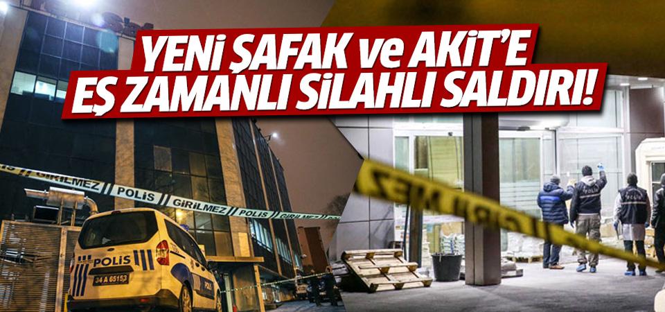 Yenişafak ve Yeni Akit Gazetesi'ne eş zamanlı saldırı!