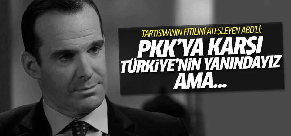 PYD'yi ziyaret eden ABD'liden Türkiye açıklaması