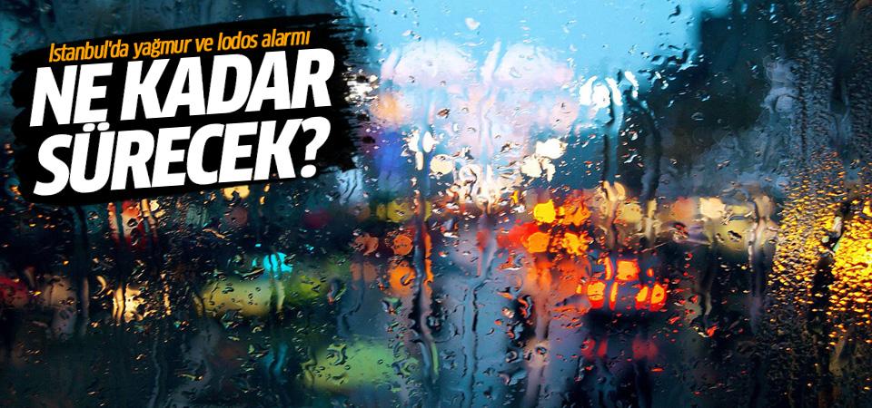Meteoroloji uyardı: İstanbul'da yağmur ve fırtına ne kadar sürecek?
