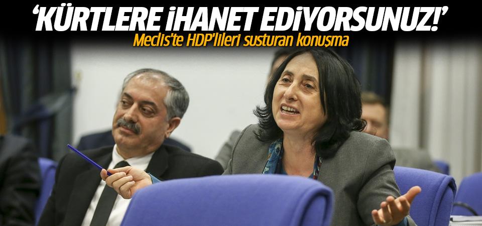 HDP'lileri susturan konuşma: Kürtlere ihanet ediyorsunuz