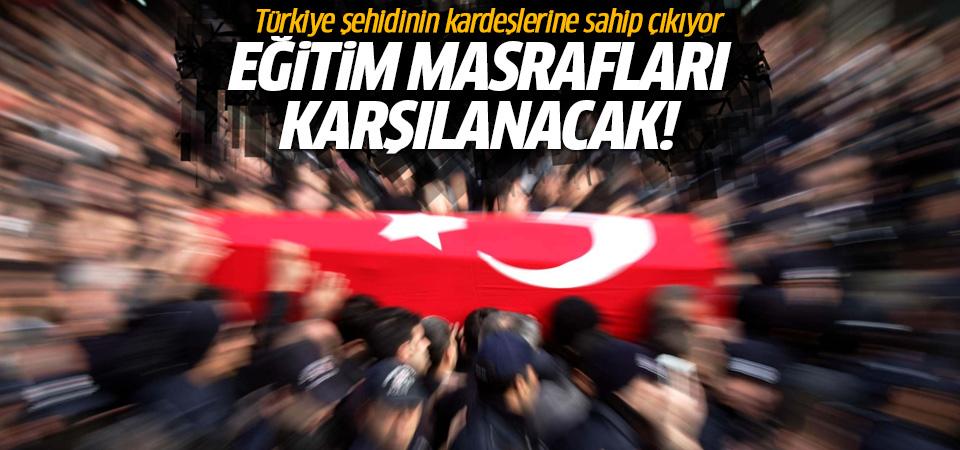 Türkiye Şehidinin kardeşlerine sahip çıkıyor