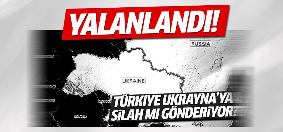 Kırımoğlu, 'Türkiye'den Ukrayna'ya silah gidiyor' haberini yalanladı
