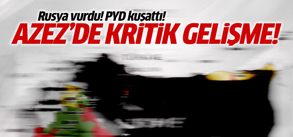 Azez'deki Minniğ askeri üssü yeniden PYD'nin kontrolüne geçti