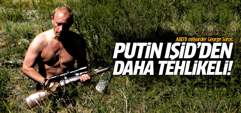 George Soros: Putin IŞİD'den daha tehlikeli!