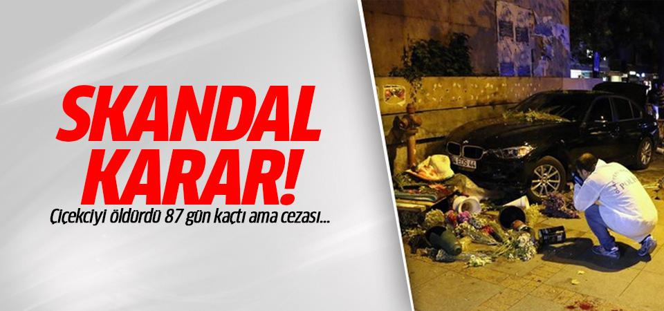 Kadıköy'de çiçekçiyi ezen Murathan Öztürk'e skandal ceza!