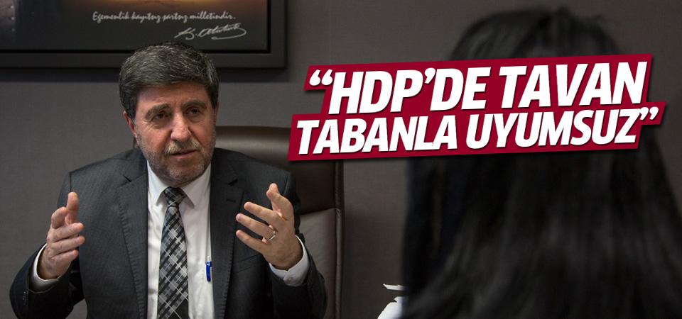 Altan Tan: HDP'de tavan tabanla uyumsuz