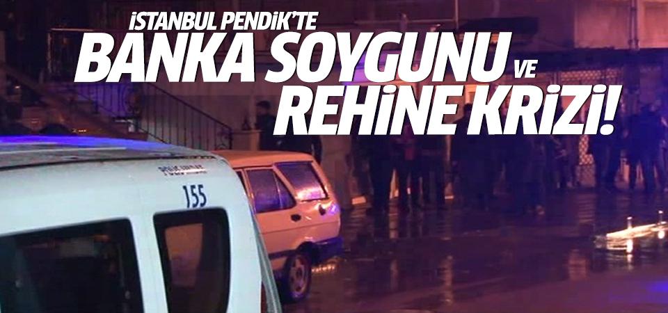 İstanbul Pendik'te rehine krizi!