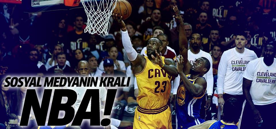 Sosyal medyanın en iyisi NBA