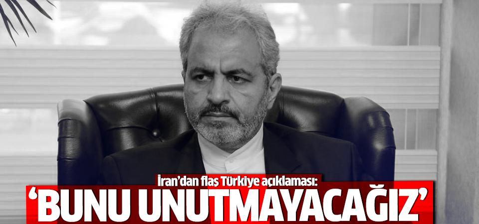 İran'dan flaş Türkiye açıklaması!