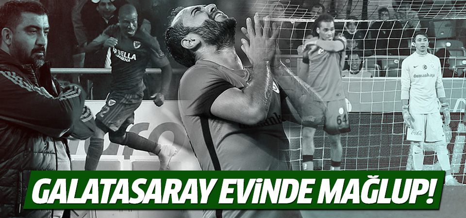 Mersin İdmanyurdu-Galatasaray maç sonucu