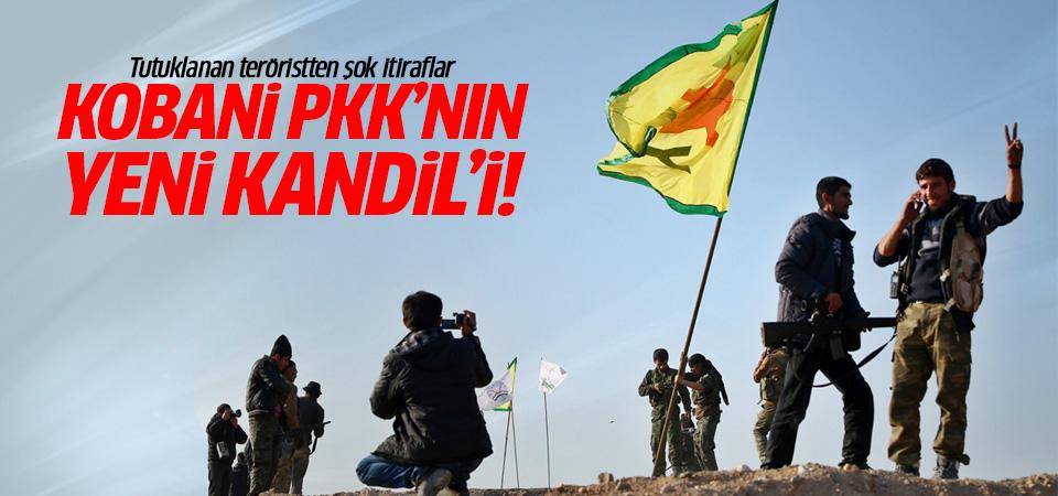 Tutuklanan teröristten şok itiraflar: Kobani PKK'nın yeni Kandil'i