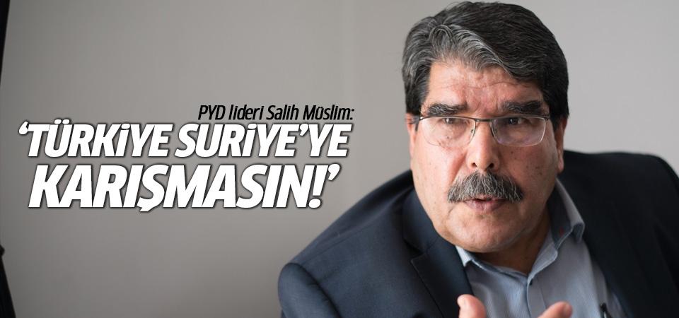 Salih Müslim'den Türkiye açıklaması