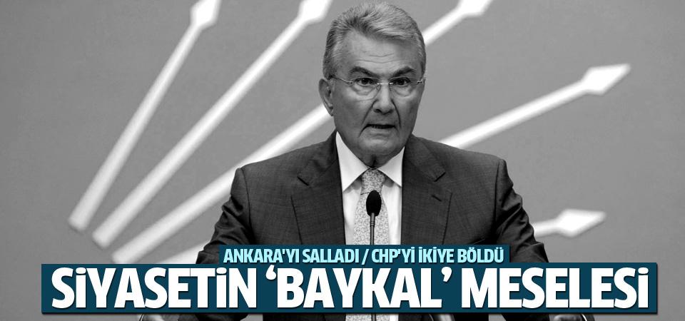 Ankara'da Deniz Baykal çatlağı