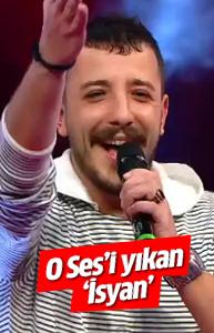 O Ses Türkiye'de Ahmet Parlak 'İsyan'ı